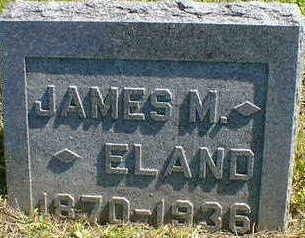 ELAND, JAMES M. - Cerro Gordo County, Iowa | JAMES M. ELAND