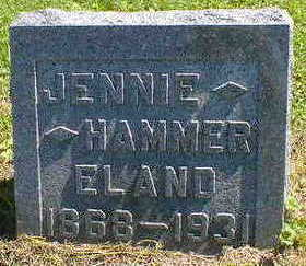 ELAND, JENNIE - Cerro Gordo County, Iowa | JENNIE ELAND