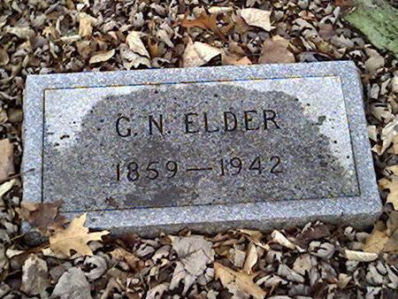 ELDER, G.N. - Cerro Gordo County, Iowa | G.N. ELDER