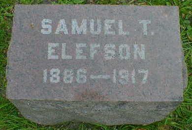 ELEFSON, SAMUEL T. - Cerro Gordo County, Iowa | SAMUEL T. ELEFSON