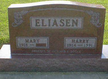 ELIASEN, HARRY - Cerro Gordo County, Iowa   HARRY ELIASEN