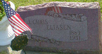 ELIASEN, J. CHRIS - Cerro Gordo County, Iowa   J. CHRIS ELIASEN