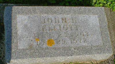 ELLIOTT, JOHN N. - Cerro Gordo County, Iowa   JOHN N. ELLIOTT