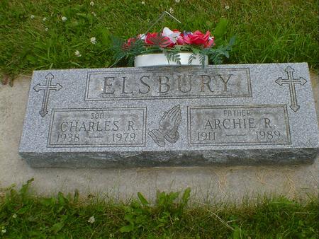 ELSBURY, CHARLES R. - Cerro Gordo County, Iowa | CHARLES R. ELSBURY