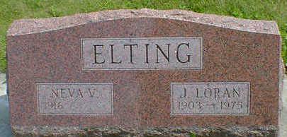 ELTING, J. LOREN - Cerro Gordo County, Iowa | J. LOREN ELTING