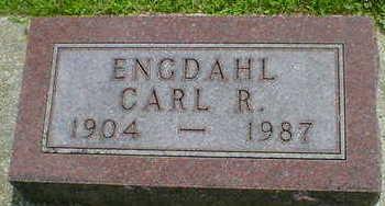 ENGDAHL, CARL R. - Cerro Gordo County, Iowa | CARL R. ENGDAHL