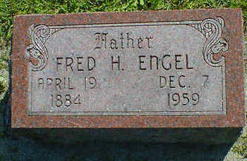 ENGEL, FRED H. - Cerro Gordo County, Iowa | FRED H. ENGEL