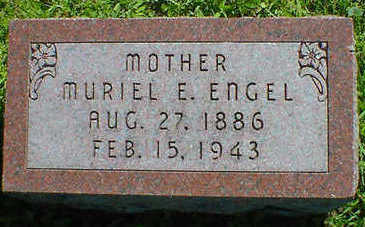 ENGEL, MURIEL E. - Cerro Gordo County, Iowa | MURIEL E. ENGEL