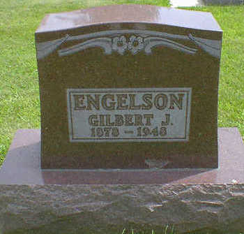 ENGELSON, GILBERT J. - Cerro Gordo County, Iowa   GILBERT J. ENGELSON
