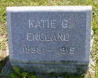 ENGLAND, KATIE G. - Cerro Gordo County, Iowa | KATIE G. ENGLAND