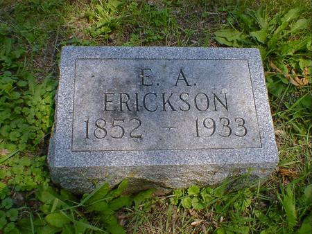 ERICKSON, E. A. - Cerro Gordo County, Iowa   E. A. ERICKSON