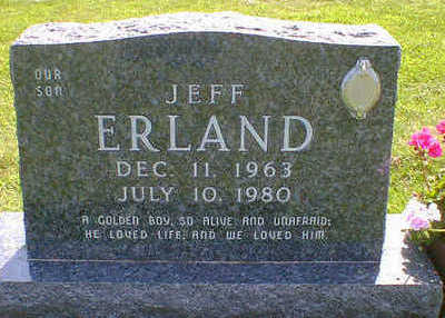 ERLAND, JEFF - Cerro Gordo County, Iowa | JEFF ERLAND