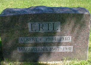 ERTL, ALBERT C. - Cerro Gordo County, Iowa | ALBERT C. ERTL