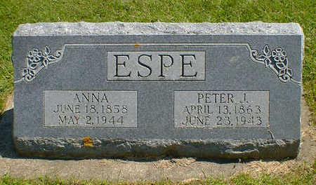 ESPE, ANNA - Cerro Gordo County, Iowa   ANNA ESPE