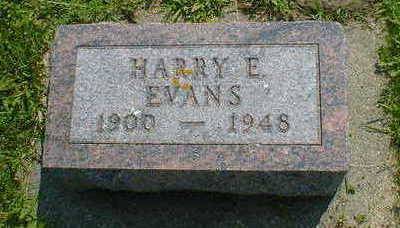 EVANS, HARRY E. - Cerro Gordo County, Iowa | HARRY E. EVANS
