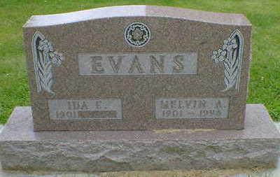 EVANS, IDA E. - Cerro Gordo County, Iowa | IDA E. EVANS