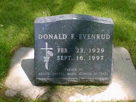 EVENRUD, DONALD F.