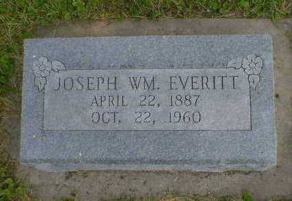 EVERITT, JOSEPH WM. - Cerro Gordo County, Iowa | JOSEPH WM. EVERITT