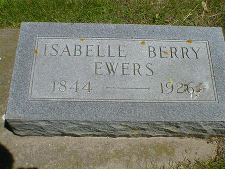 BERRY EWERS, ISABELLE - Cerro Gordo County, Iowa | ISABELLE BERRY EWERS
