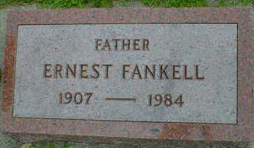 FANKELL, ERNEST - Cerro Gordo County, Iowa   ERNEST FANKELL