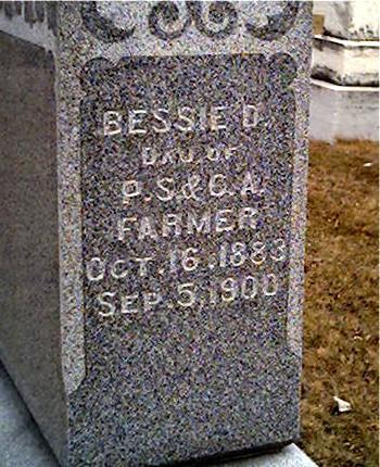 FARMER, BESSIE - Cerro Gordo County, Iowa | BESSIE FARMER
