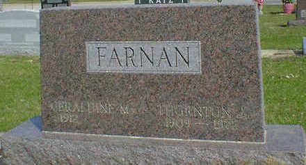 FARNAN, THORNTON J. - Cerro Gordo County, Iowa   THORNTON J. FARNAN