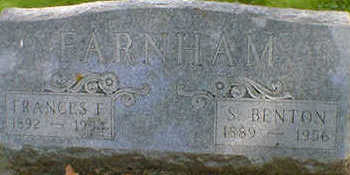 FARNHAM, FRANCES F. - Cerro Gordo County, Iowa   FRANCES F. FARNHAM