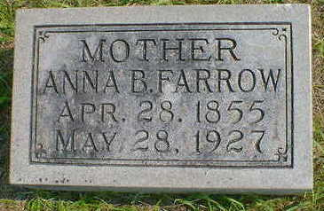 FARROW, ANNA B. - Cerro Gordo County, Iowa | ANNA B. FARROW