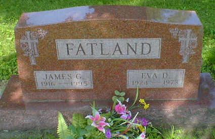 FATLAND, JAMES G. - Cerro Gordo County, Iowa   JAMES G. FATLAND