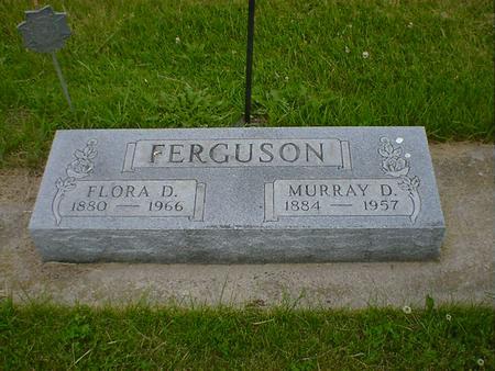 FERGUSON, FLORA D. - Cerro Gordo County, Iowa | FLORA D. FERGUSON