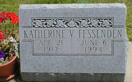 FESSENDEN, KATHERINE V. - Cerro Gordo County, Iowa   KATHERINE V. FESSENDEN