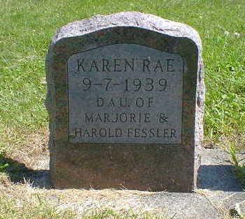 FESSLER, KAREN RAE - Cerro Gordo County, Iowa   KAREN RAE FESSLER