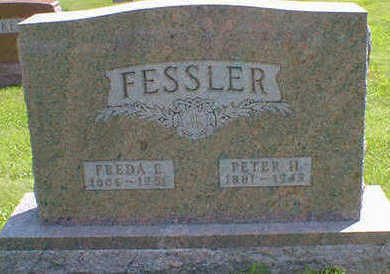 FESSLER, FREDA E. - Cerro Gordo County, Iowa | FREDA E. FESSLER