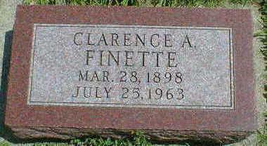 FINETTE, CLARENCE A. - Cerro Gordo County, Iowa | CLARENCE A. FINETTE