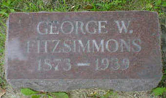 FITZSIMMONS, GEORGE W. - Cerro Gordo County, Iowa | GEORGE W. FITZSIMMONS