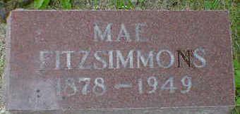 FITZSIMMONS, MAE - Cerro Gordo County, Iowa   MAE FITZSIMMONS