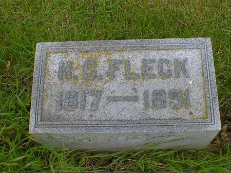 FLECK, H. C. - Cerro Gordo County, Iowa | H. C. FLECK