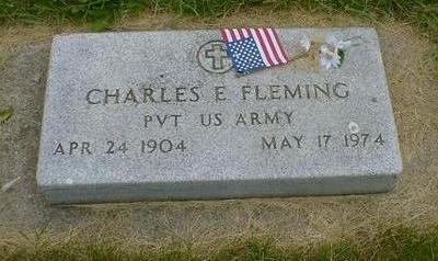 FLEMING, CHARLES E. - Cerro Gordo County, Iowa | CHARLES E. FLEMING