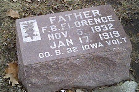 FLORENCE, F.B. - Cerro Gordo County, Iowa | F.B. FLORENCE