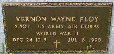 FLOY, VERNON WAYNE - Cerro Gordo County, Iowa   VERNON WAYNE FLOY