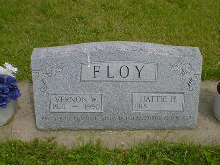 FLOY, VERNON W. - Cerro Gordo County, Iowa | VERNON W. FLOY