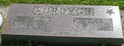 FORDYCE, VIRGIL B. - Cerro Gordo County, Iowa | VIRGIL B. FORDYCE