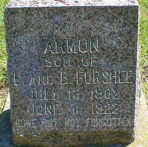 FORSHEE, ARMON - Cerro Gordo County, Iowa | ARMON FORSHEE