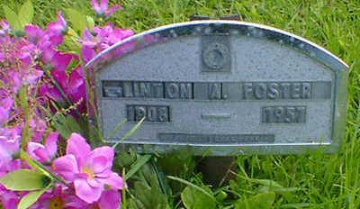 FOSTER, CLINTON A. - Cerro Gordo County, Iowa   CLINTON A. FOSTER