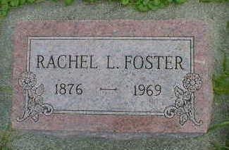 FOSTER, RACHEL L. - Cerro Gordo County, Iowa   RACHEL L. FOSTER