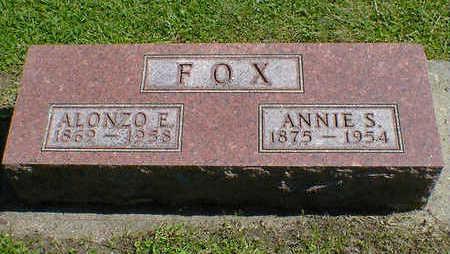 FOX, ANNIE S. - Cerro Gordo County, Iowa   ANNIE S. FOX