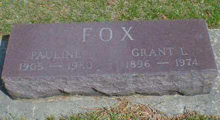 FOX, GRANT L. - Cerro Gordo County, Iowa | GRANT L. FOX