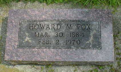 FOX, HOWARD M. - Cerro Gordo County, Iowa | HOWARD M. FOX