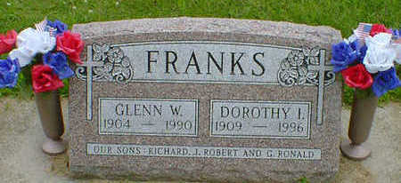 FRANKS, GLENN W. - Cerro Gordo County, Iowa | GLENN W. FRANKS