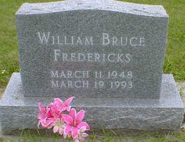 FREDERICKS, WILLIAM BRUCE - Cerro Gordo County, Iowa | WILLIAM BRUCE FREDERICKS